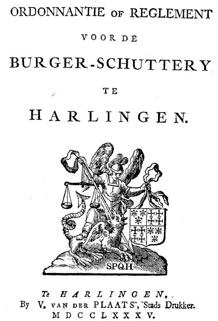 titelblad schutterij 1785-origineel